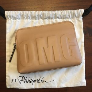 Philip Lim OMG 31 Second Leather Clutch